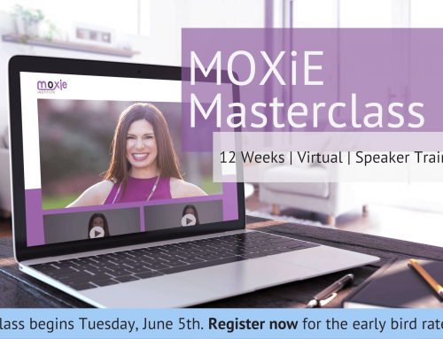 Introducing the Speak With MOXiE Masterclass