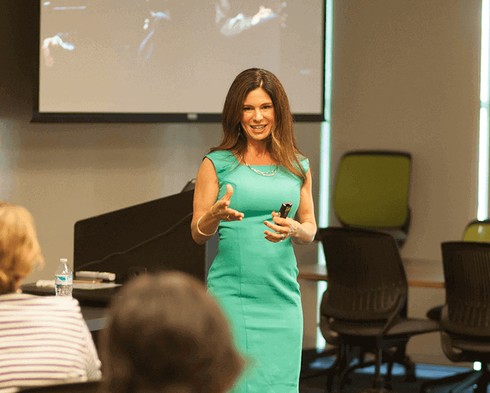 how to overcome stage fright when presenting
