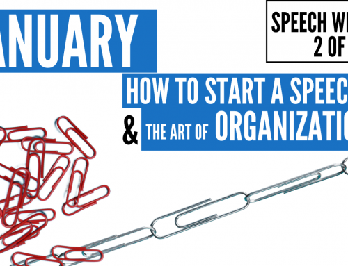 How To Start A Speech – Content Writing Series 2 of 5