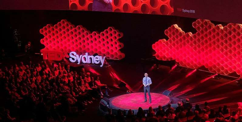 TED style talk