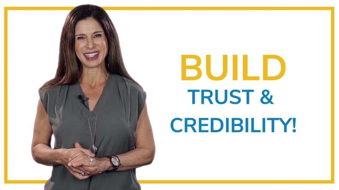 how to establish trust and credibility