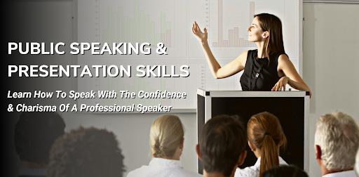 public speaking live online class
