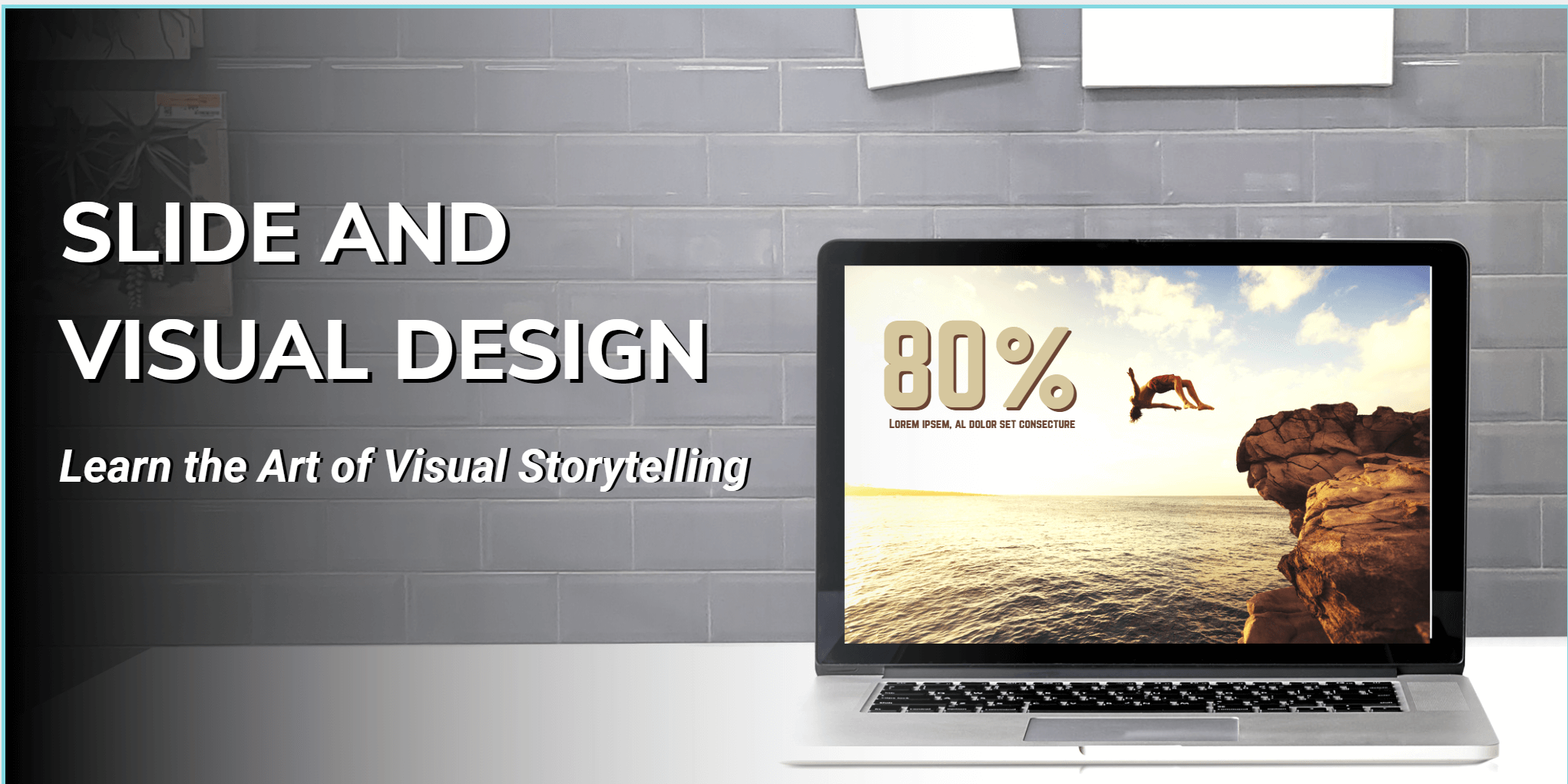 slide and visual design live online class
