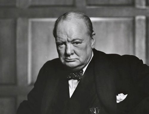 Winston Churchill Had Stage Fright?