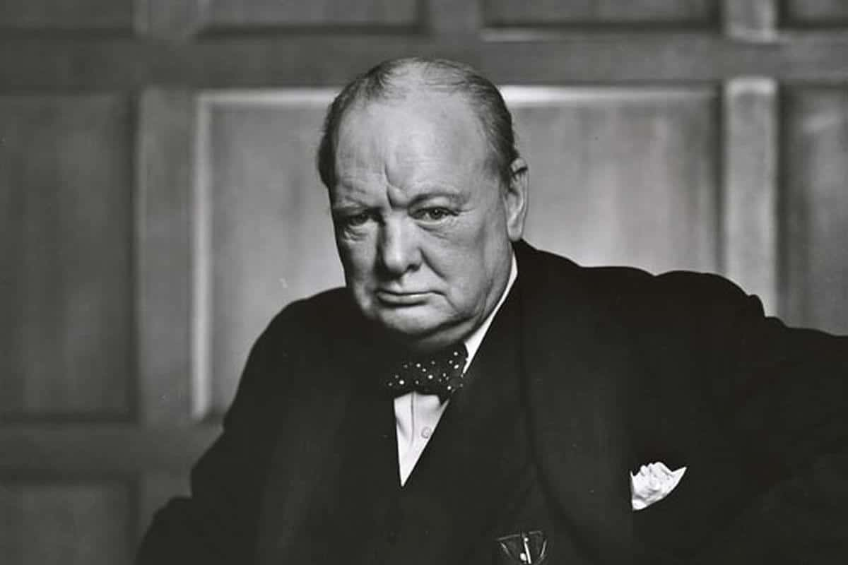 Sir Winston Churchill Had Stage Fright